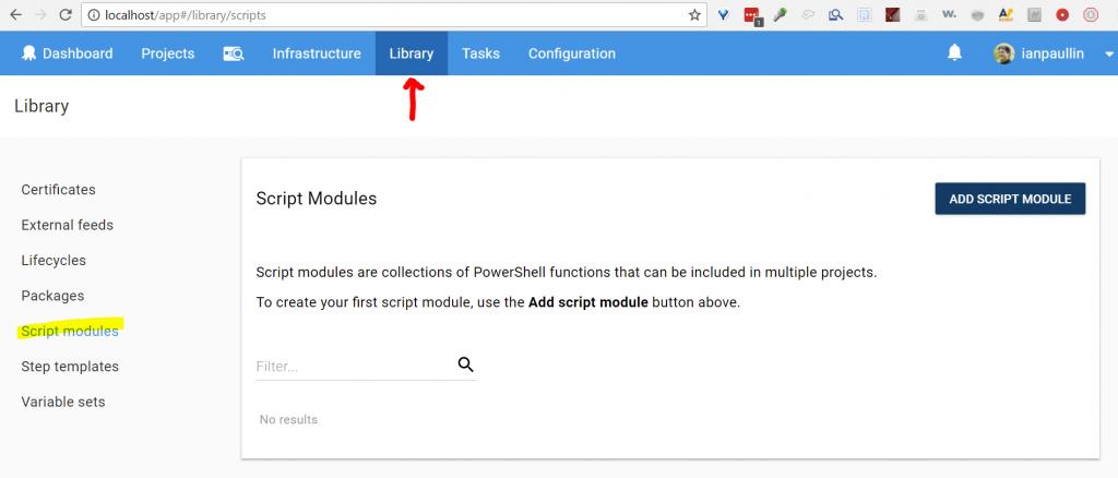 Finding PowerShell Script Modules within the Octopus API – Ian Paullin